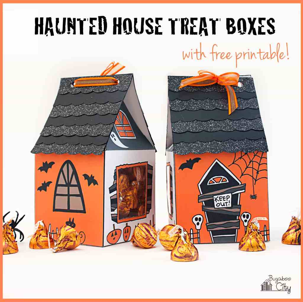 Haunted House Treat Box DIY for Halloween