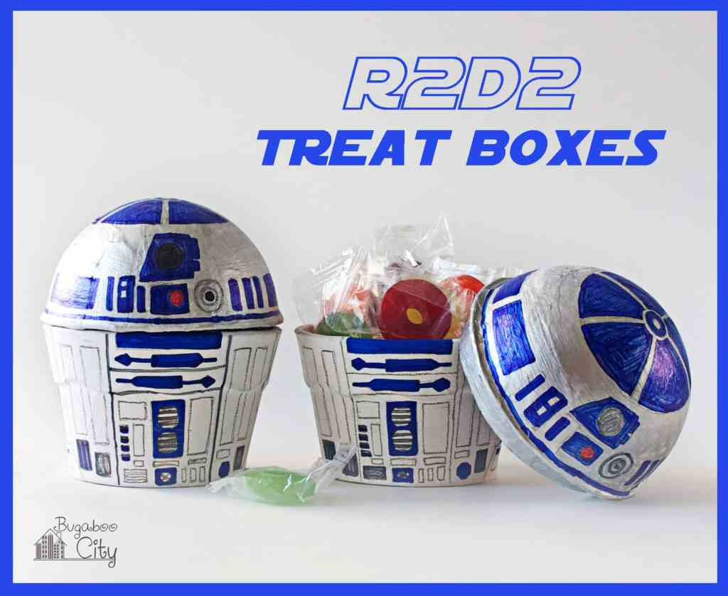 R2D2 Treat Boxes Star Wars Party Favors Tutorial