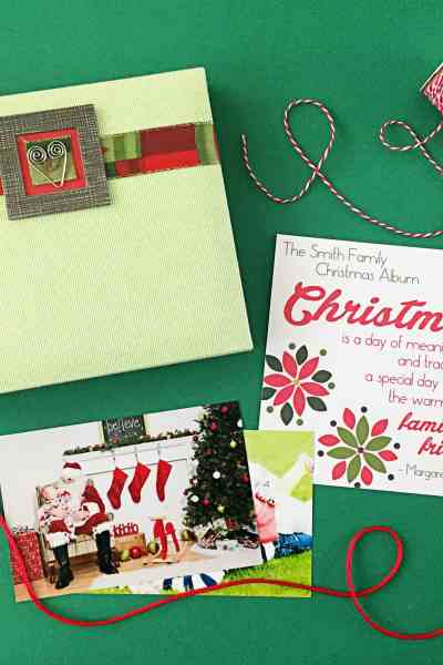 Christmas Family Scrapbook