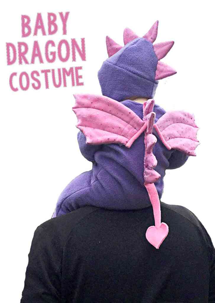 DIY Baby Dragon Costume