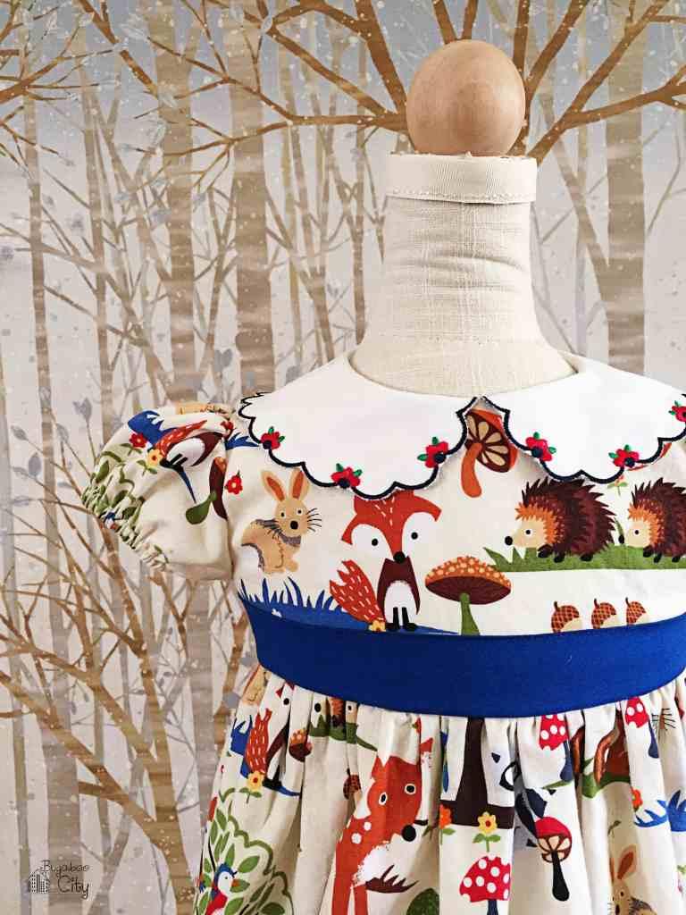 Woodland Animal Party Dress