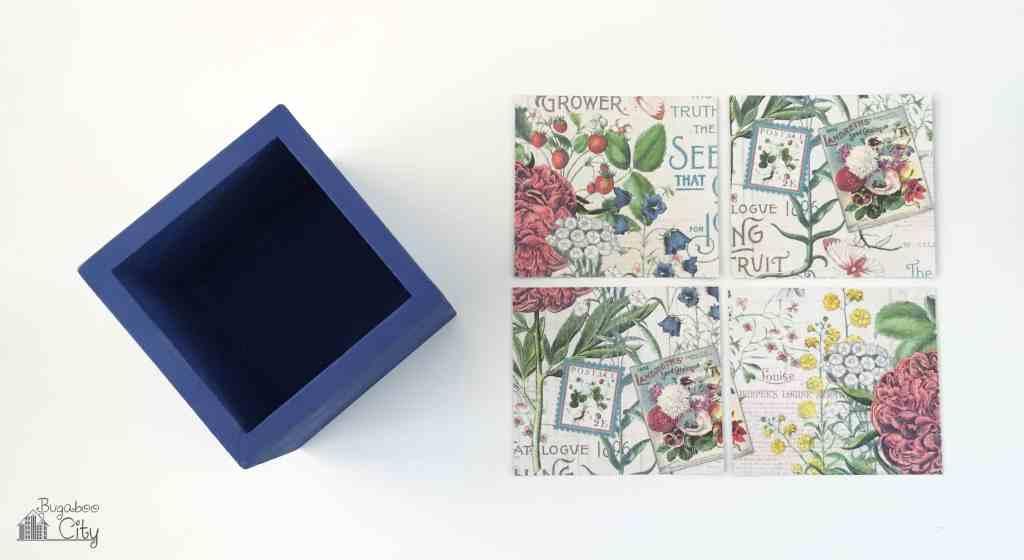Flora Decoupage Boxes