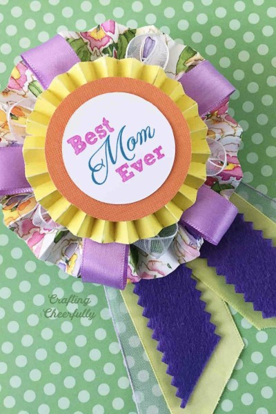 Mother's Day Medallion Pin