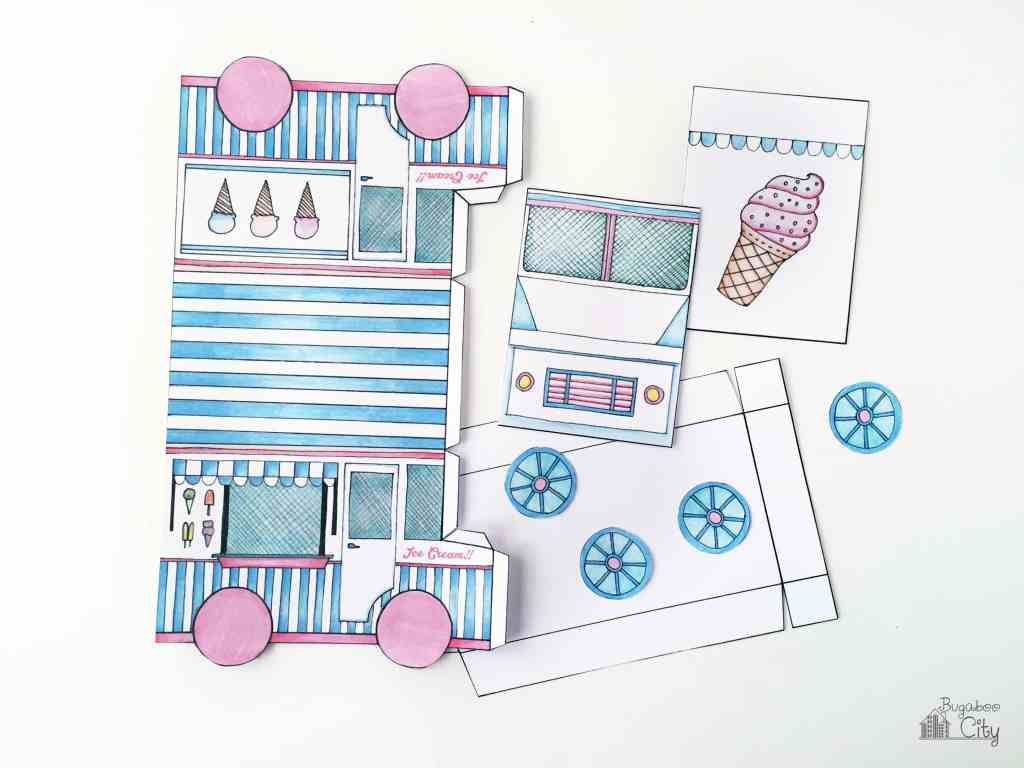 Ice Cream Truck Treat Box