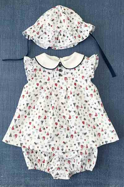 Fourth of July Baby Dress