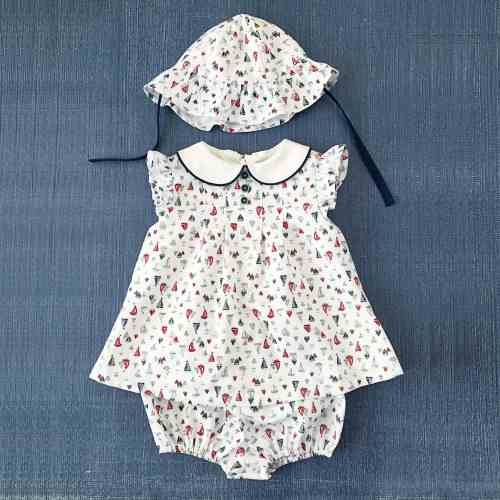 Nautical Boat Baby Dress