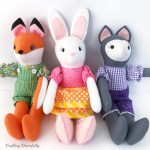 Diy Fabric Dolls With Mccall S Pattern Crafting Cheerfully