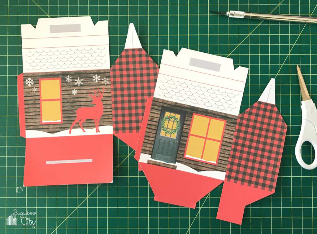DIY Cozy Cabin Treat Box with Free Printable