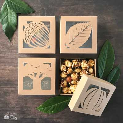 DIY Autumn Treat Boxes with Free Cut Files