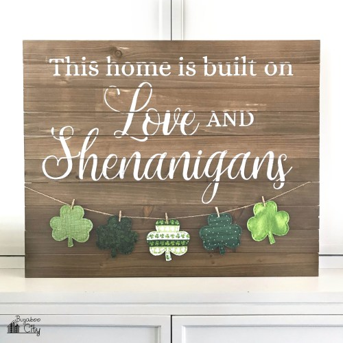 Farmhouse Sign with Banner