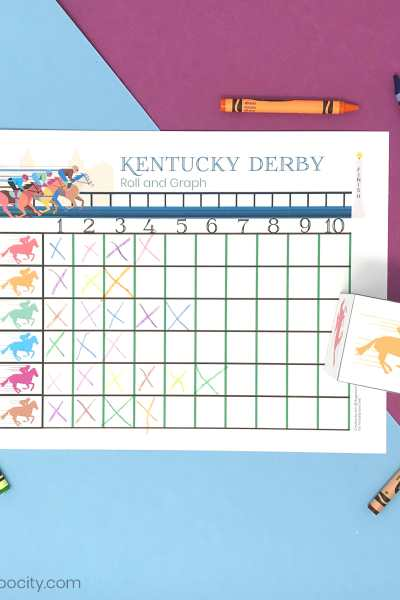 Kentucky Derby Roll and Graph