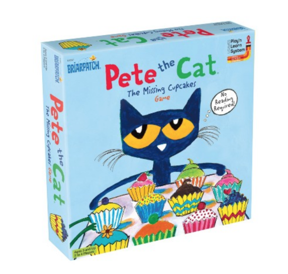 10 Fun Games for Preschoolers - Pete the Cat The Missing Cupcakes Game