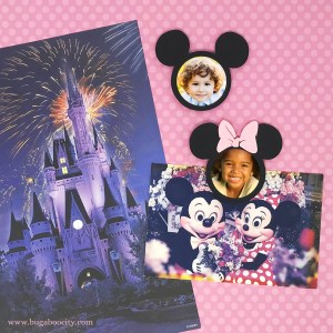 DIY Mickey and Minnie Mouse Magnets with Cricut Design Space