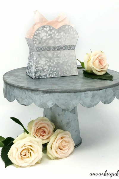 DIY Wedding Dress Treat Box