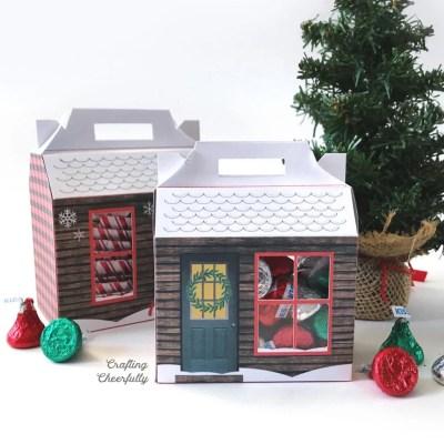Cozy Cabin Treat Box – Free Printable