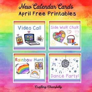 Free Monthly Calendar Card