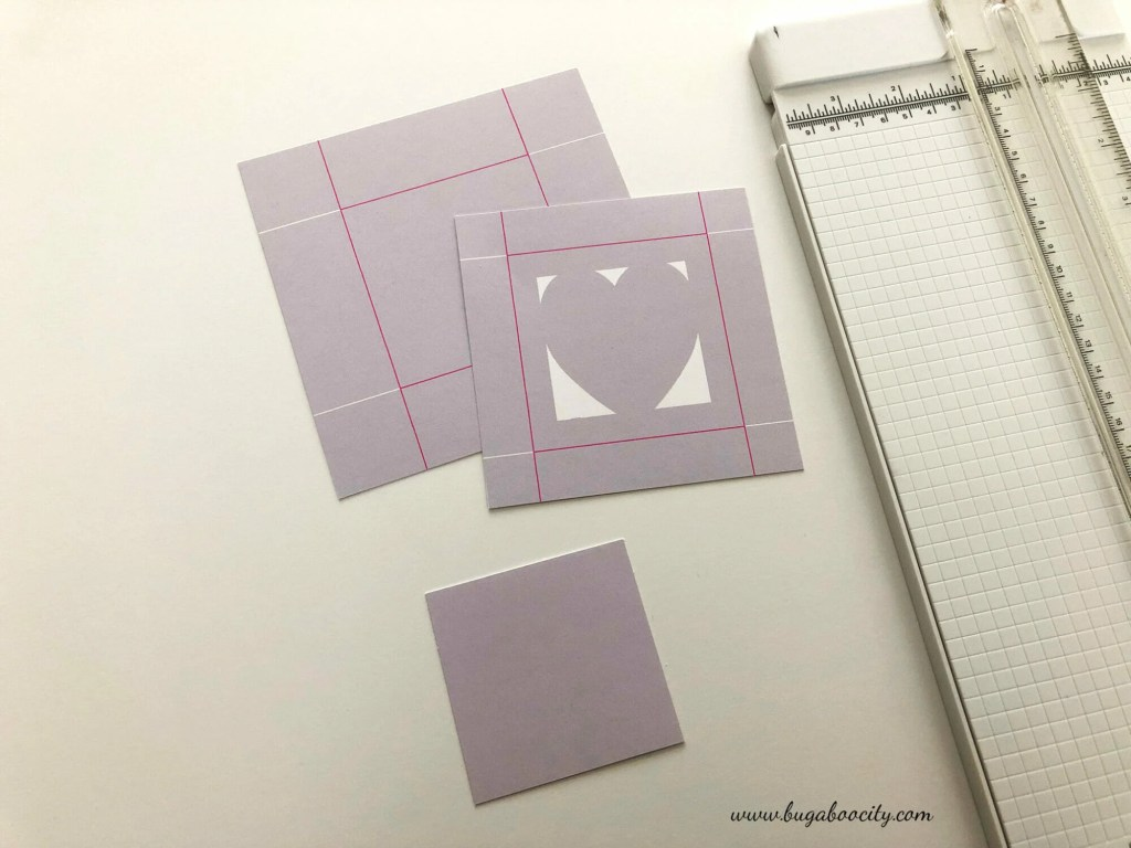 DIY Valentine's Day Treat Boxes with Free PDF Pattern