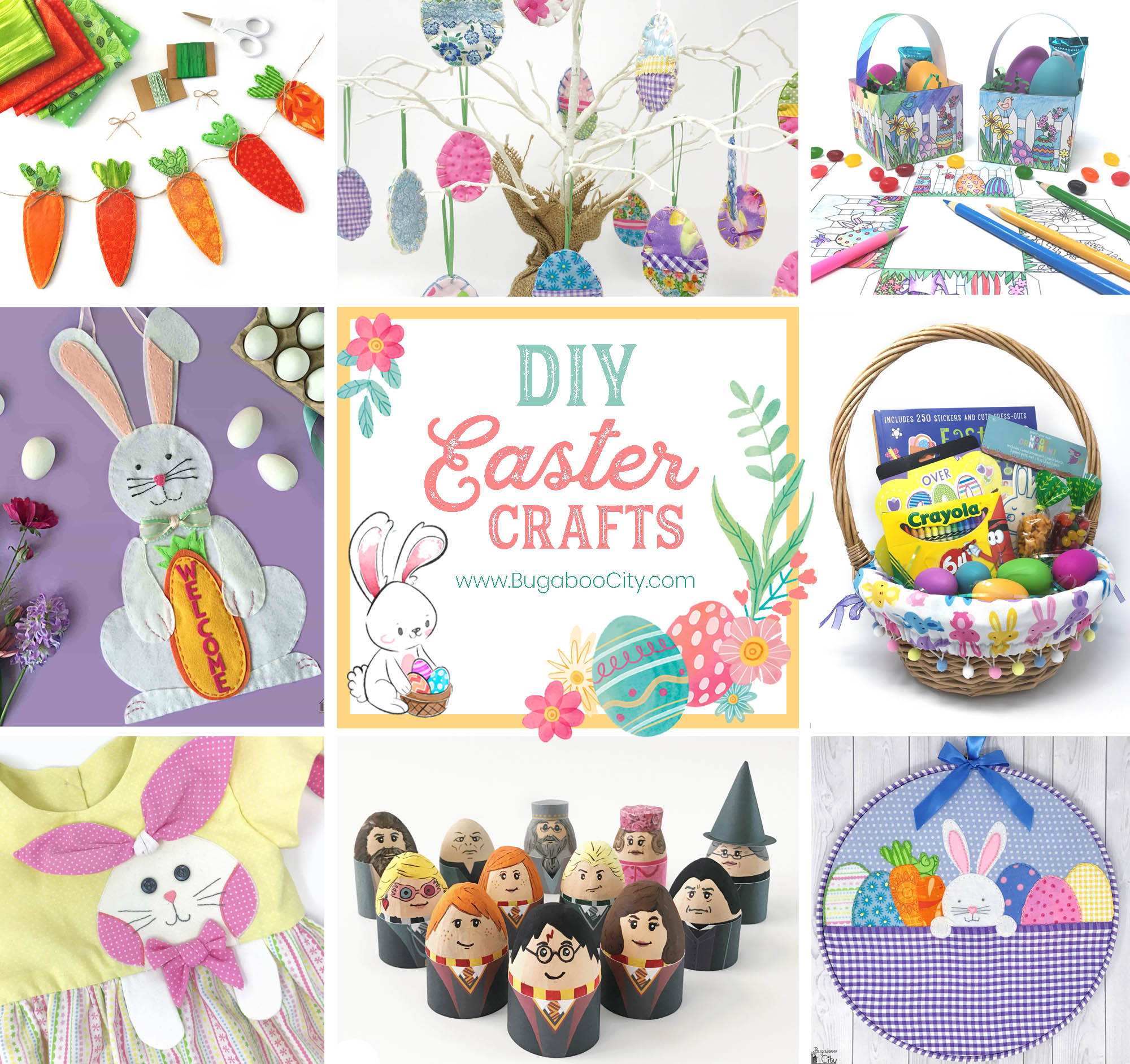 DIY Easter Crafts by BugabooCity