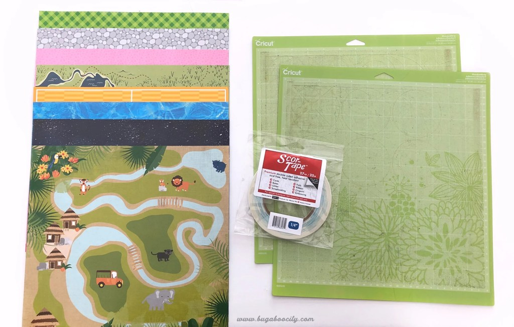 DIY Small World Play Mats made from recycled Cricut cutting mats