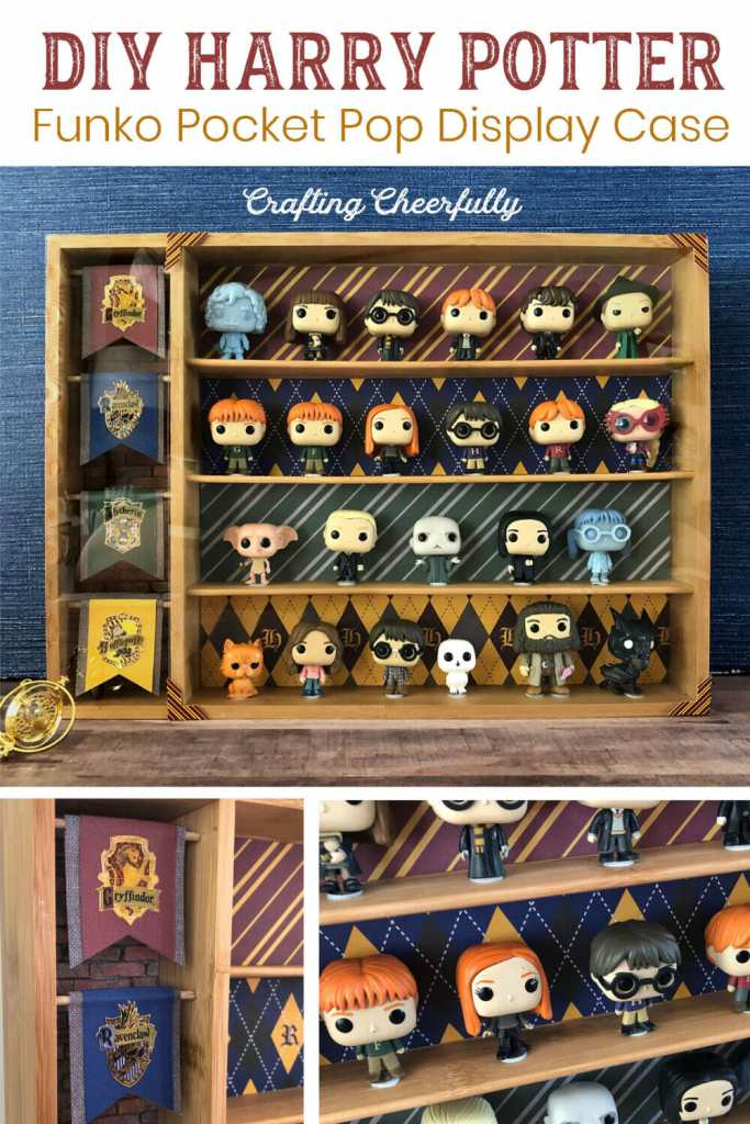 DIY Harry Potter Funko Pocket Pop Display Case - Perfect for Advent Calendar Funkos!