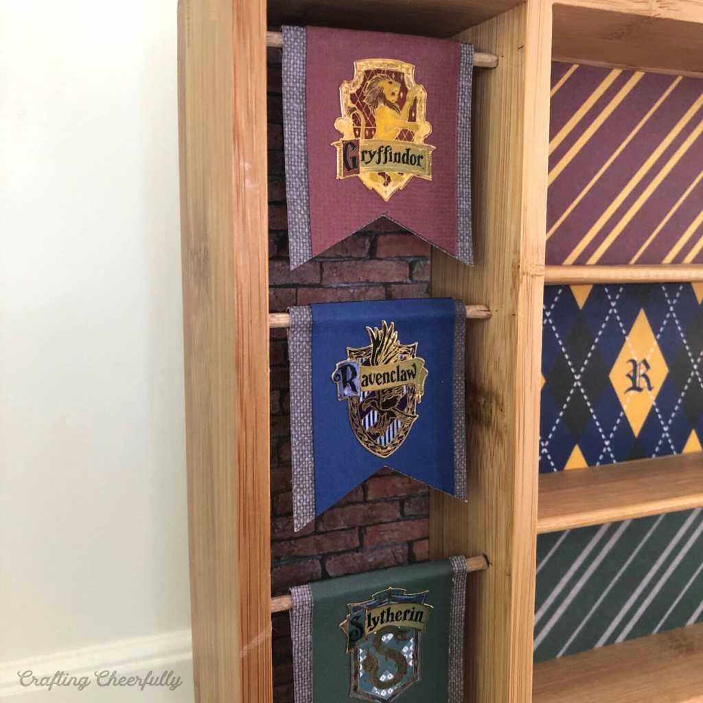 DIY Harry Potter Funko Pocket Pops Display Case