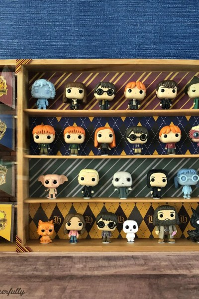 DIY Harry Potter Funko Pocket Pop Display Case
