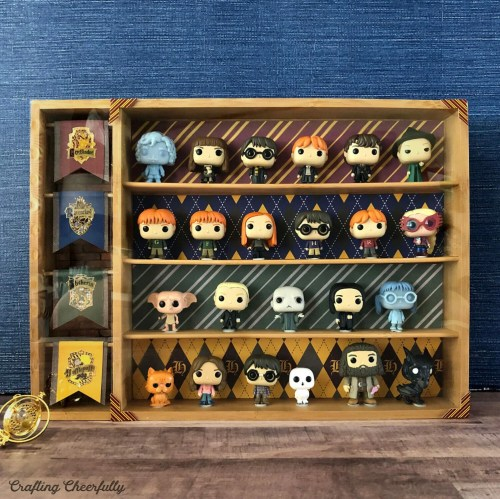 DIY Harry Potter Funko Pocket Pops Display Case