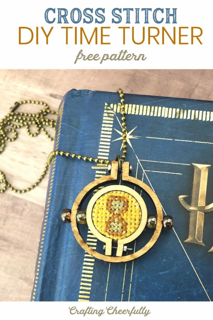 DIY Cross Stitch Time Turner - Free Pattern