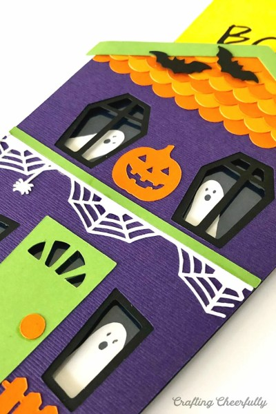DIY Haunted House Slider Card – New Halloween SVG Cut File