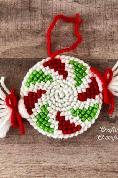Peppermint Swirl Ornament – New Cross Stitch Pattern