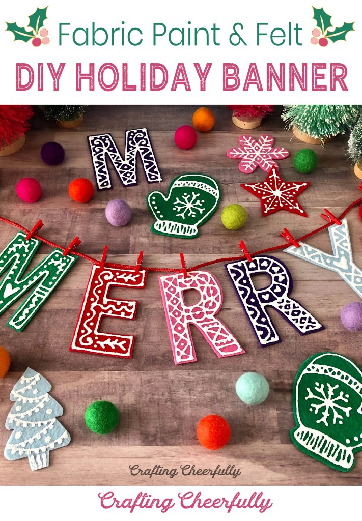 DIY Holiday Banner