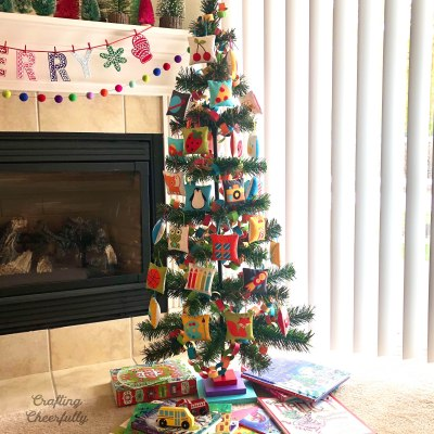 Pillow Ornaments for a Kid-Friendly Christmas Tree