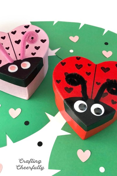 DIY Love Bug Boxes