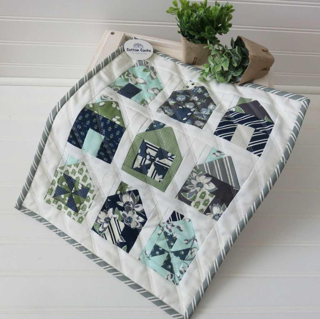Cotton Cache Dwell Mini Quilt Kit