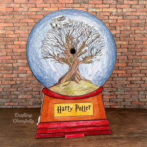 Harry Potter Snow Globe Card – Free Printable!