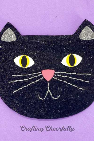 DIY Black Cat Halloween Banner – Free Pattern
