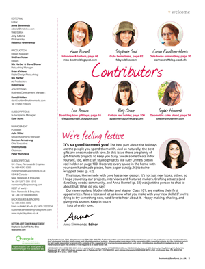 HWL contributor's page