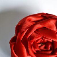 DIY Oversized Ribbon Rose