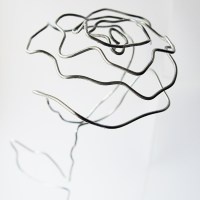 DIY Wire Rose Bouquet