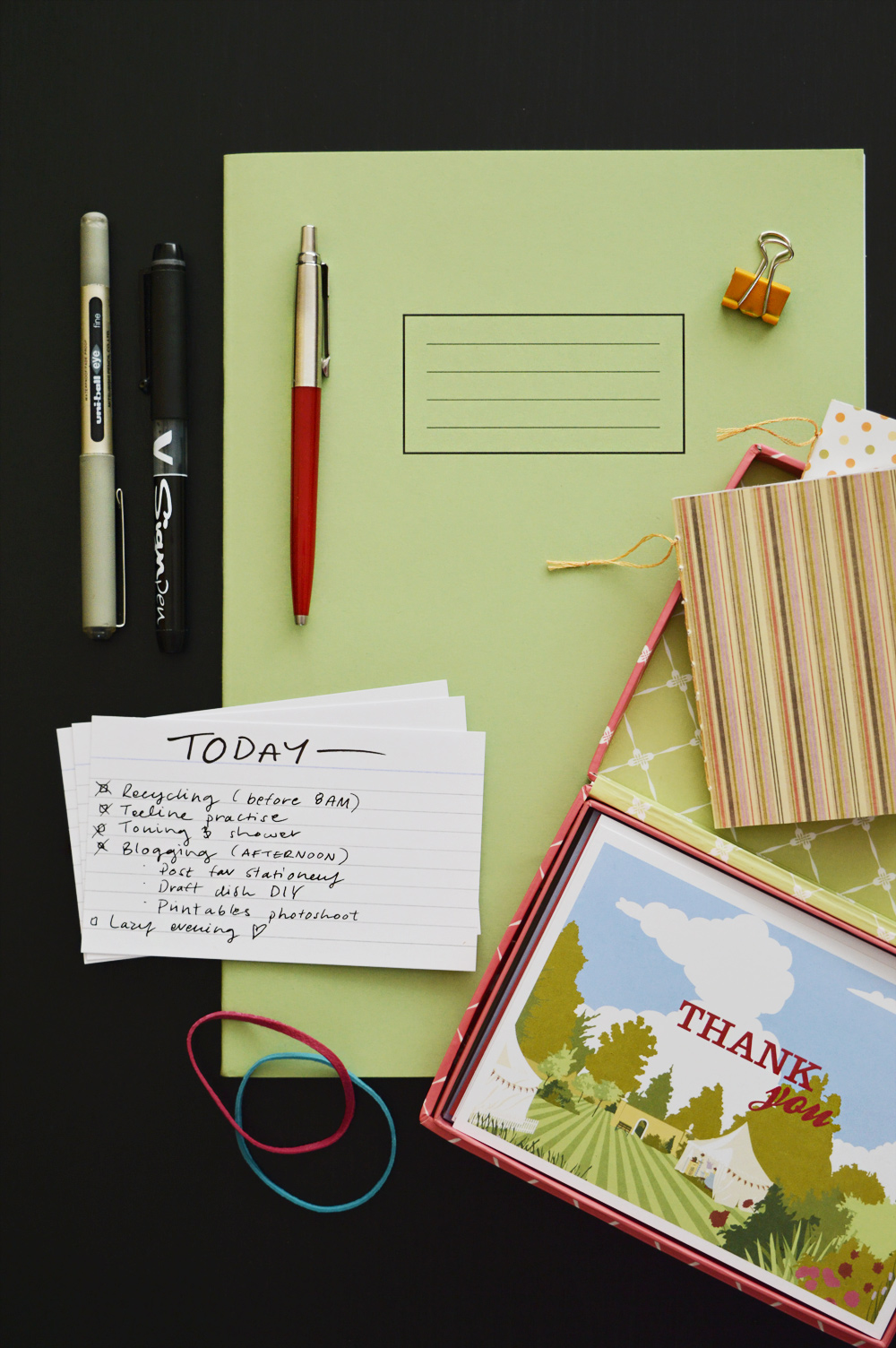 Stationery essentials for creative people | craftingfingers.co.uk