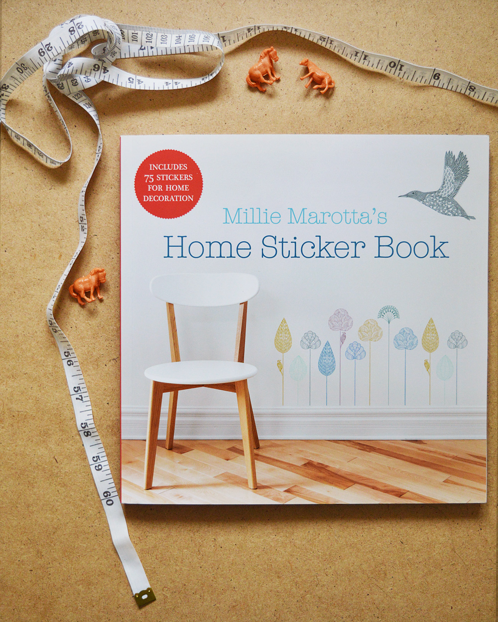 Reviewed: Millie Marotta's Home Sticker Book