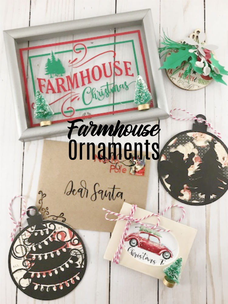 Farmhouse Ornaments Crafting Is My Therapy