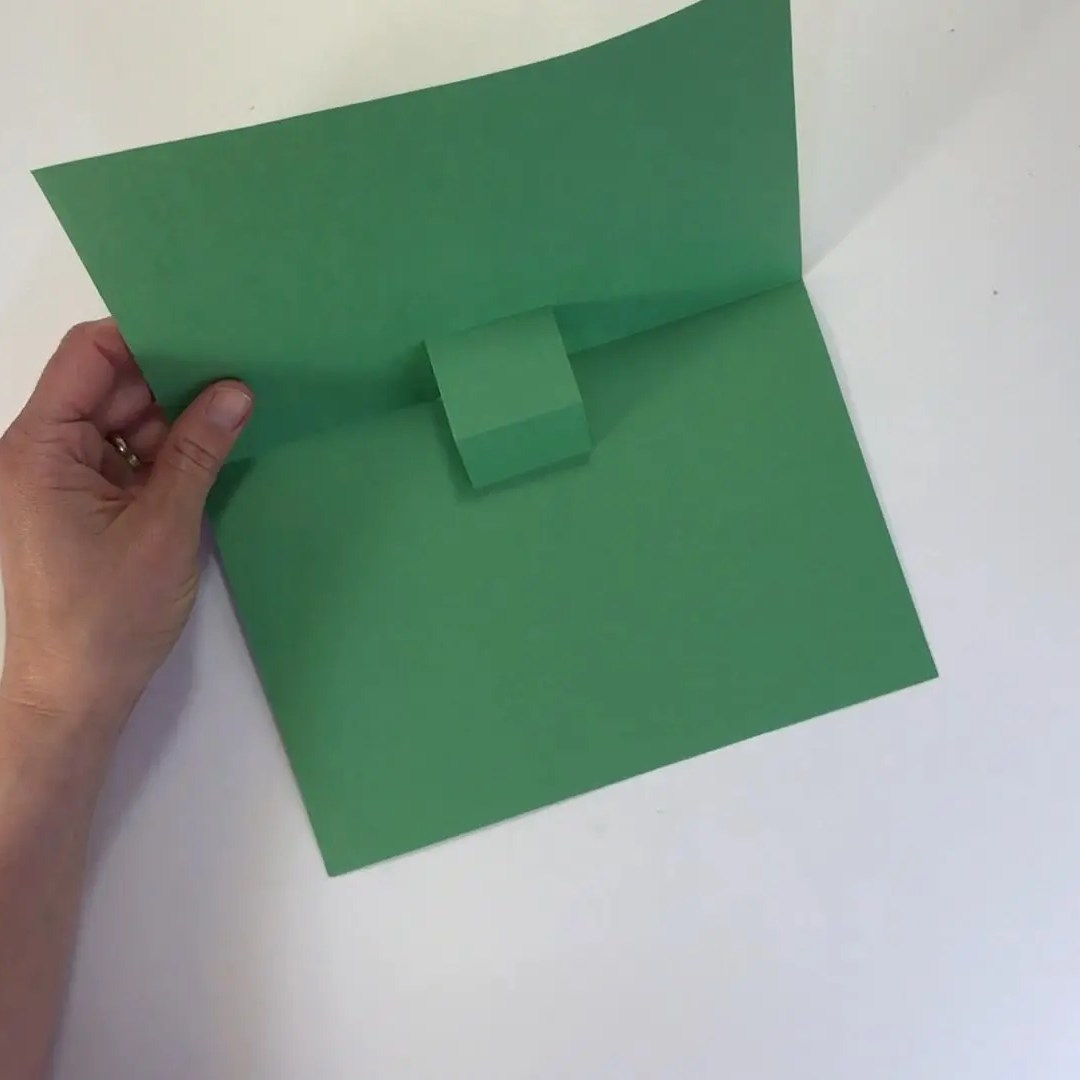 Fathers day football craft final pop up card