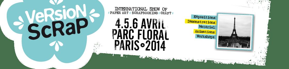 Salon Version Scrap Paris 2014