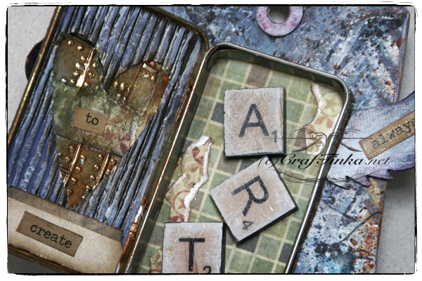 August Tags with Tim Holtz