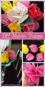 DIY-nylon-flower-tulips