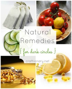 natural dark circle remedies