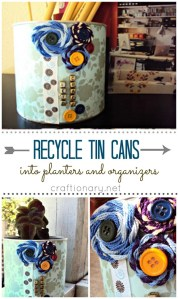 recycle-tin-cans-to-make-organizers-at-home