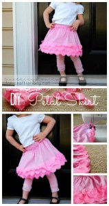 petals skirt tutorial