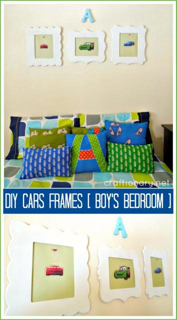 boys room frames